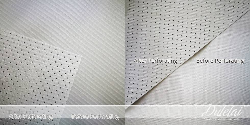 perforated tarpaulin