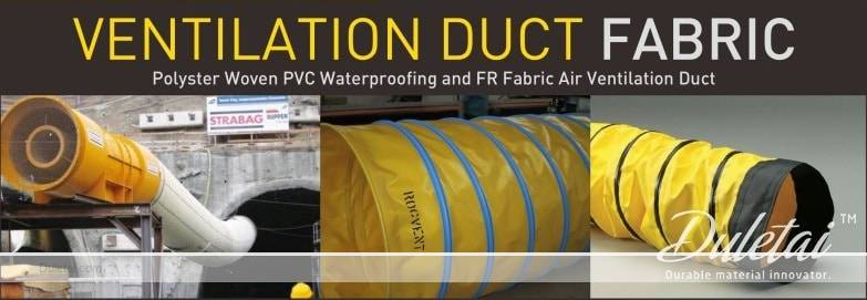 Ventilation Duct Fabric