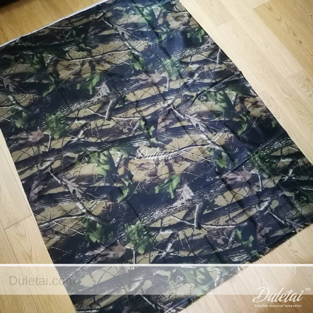 Hunting Tent Fabric Printed Camouflage Oxford Fabric For