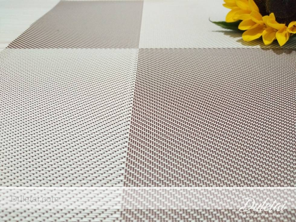 Woven Vinyl Placemats Duletai New Material