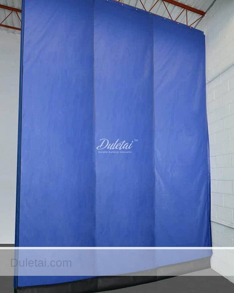 Plastic curtains material