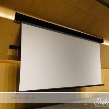 White Black Projection Screen Material Projection Screen