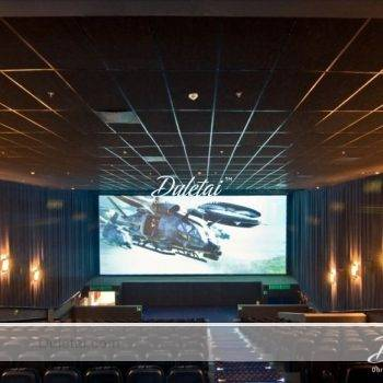 5.1m width projection screen fabric