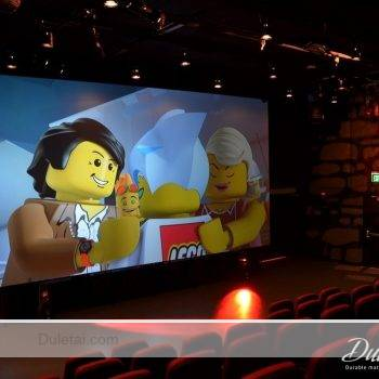 3D projection screen fabric