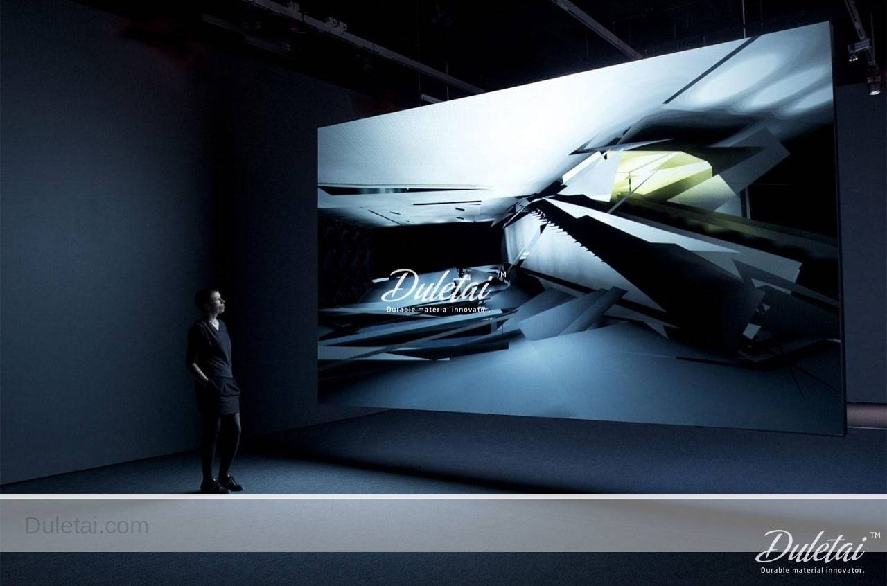 3D projection screen material