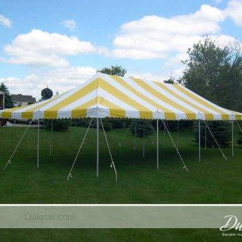 Stripped PVC tarpaulin