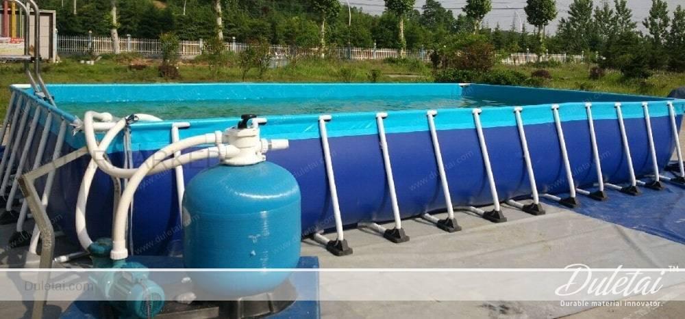 Swimming pool material