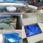 fish farming tarpaulin