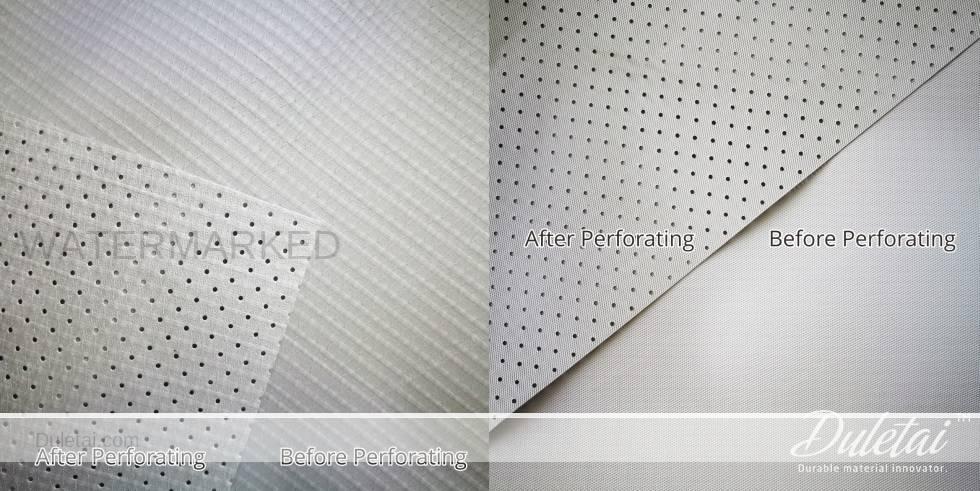 perforated tarpaulin