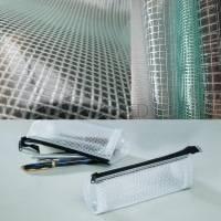 Clear mesh fabric