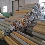 knife coated PVC tarpaulin stocklots