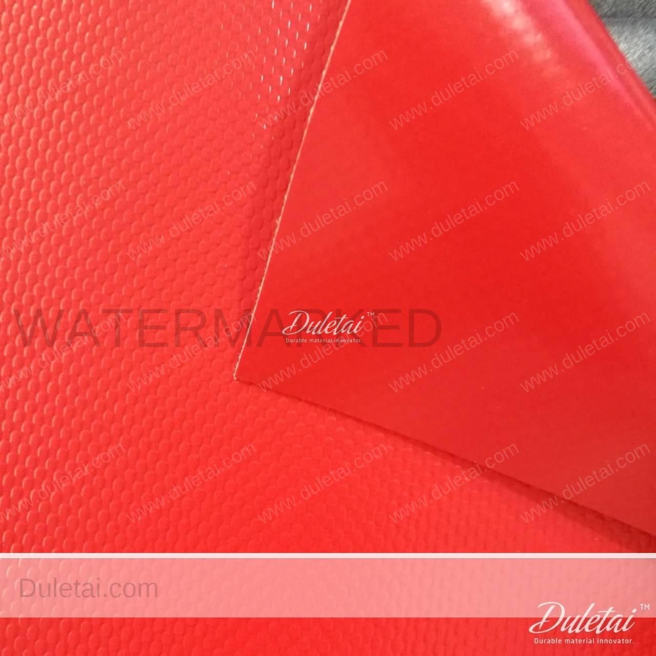 Acrylic Larquered Tarpaulin Pvc Sliding Doors Material