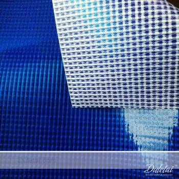 Clear vinyl tarpaulin