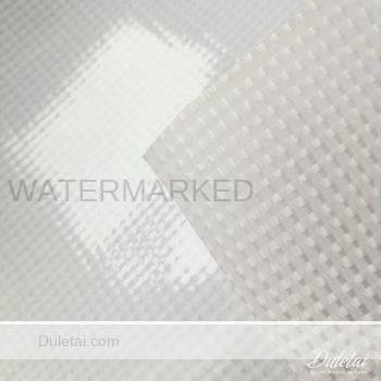 Translucent tarpaulin
