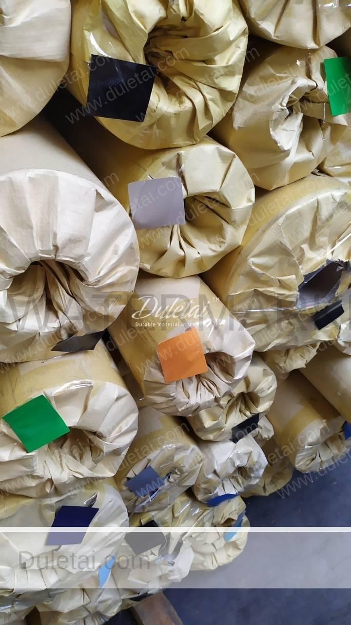 knife coated PVC tarpaulin stocklot