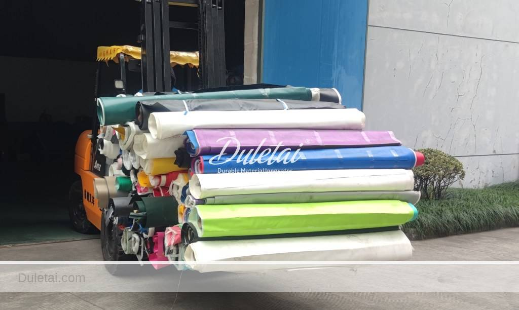 discarded tarpaulins