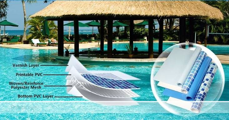 Swimming pool liner applications