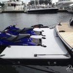 Inflatable docks