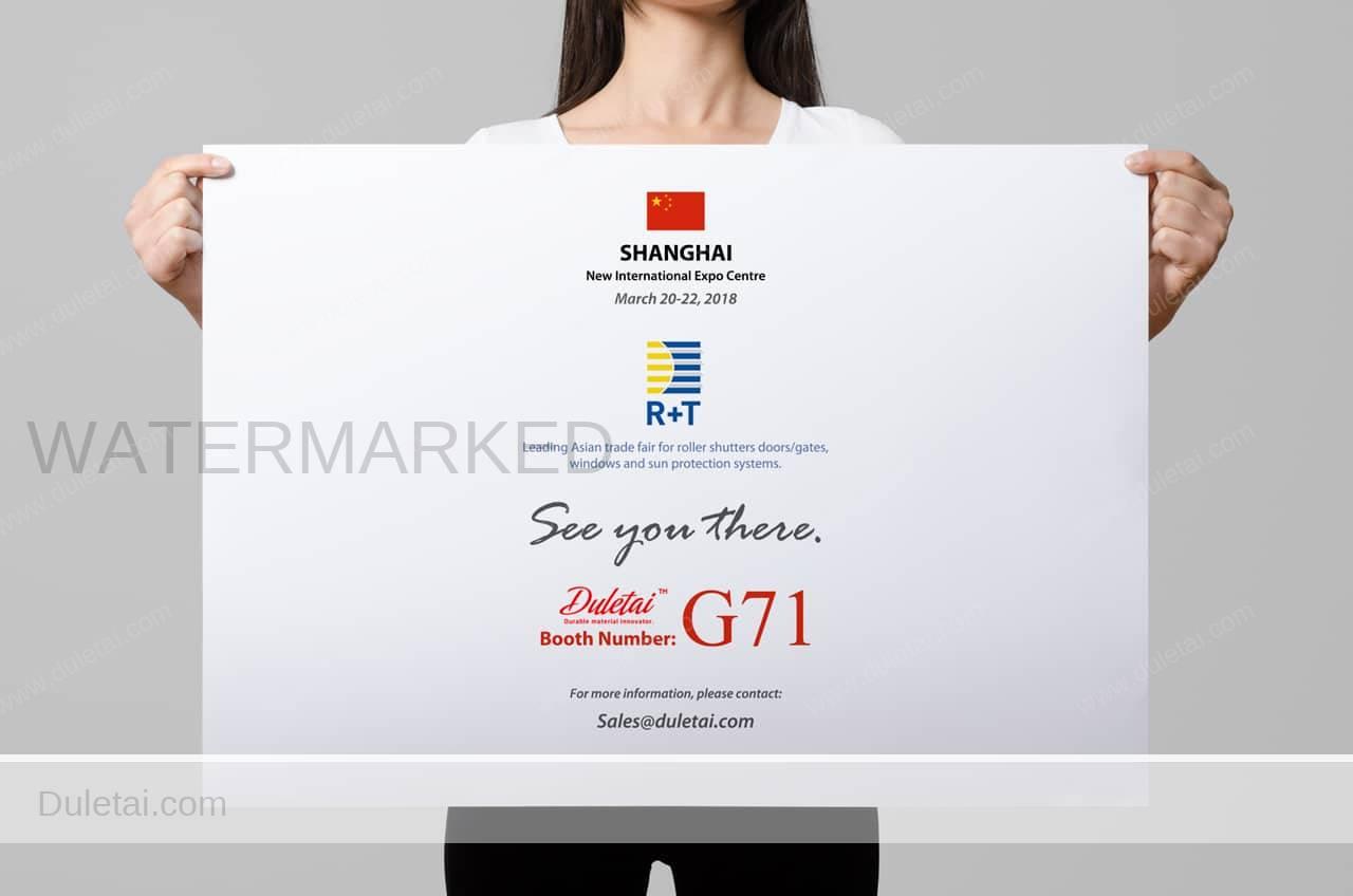 R+T Asia 2018