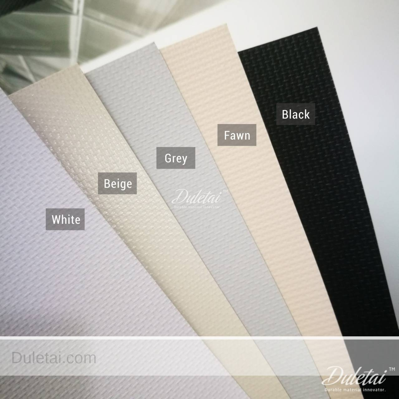 Fiberglass Blackout Blind Material For Window Shades