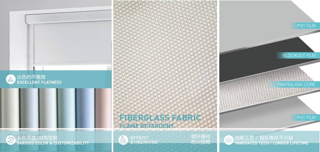 fiberglass window curtain fabric