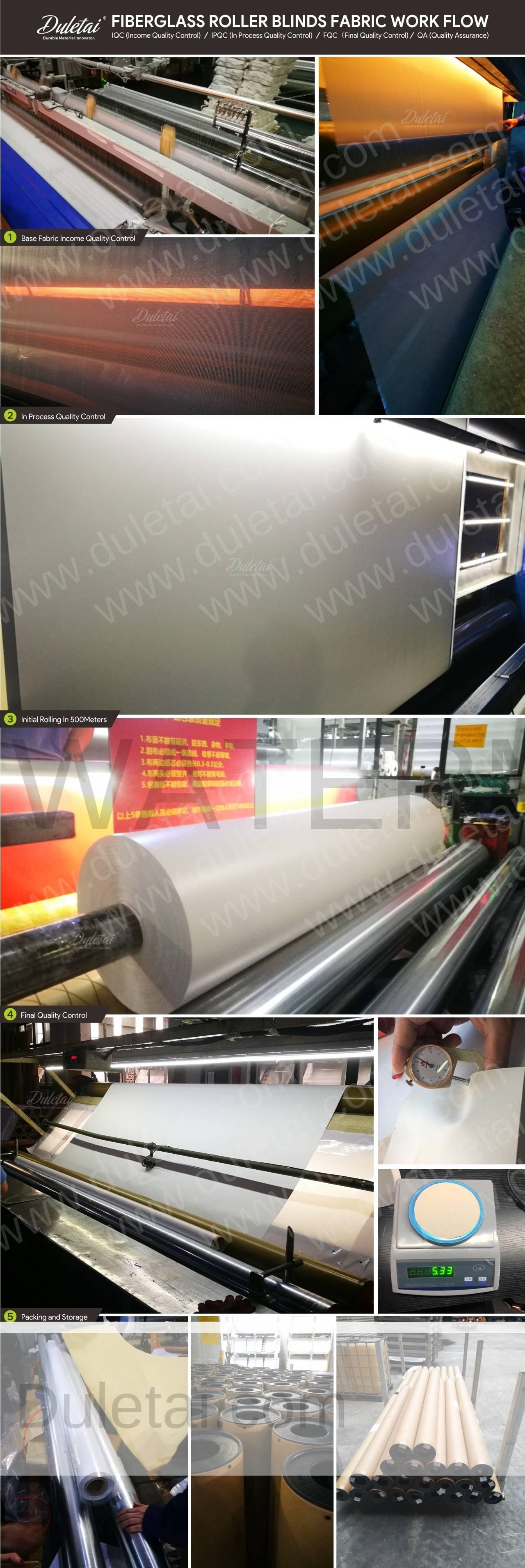 fiberglass roller blind fabric