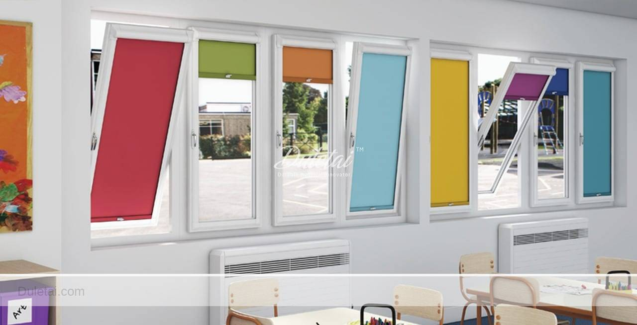coated roller blind fabric