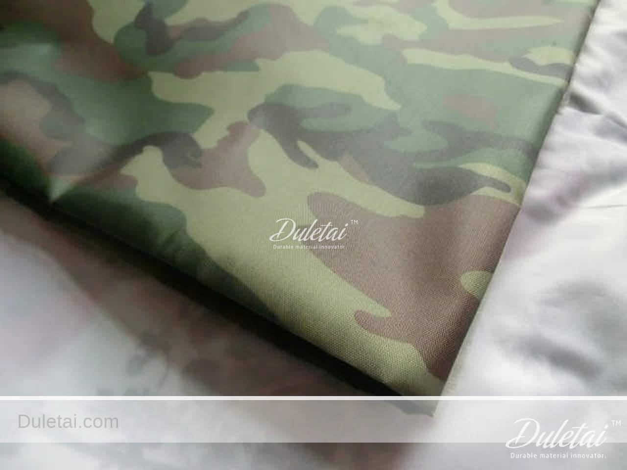 Camouflage oxford fabric