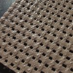 PVC coated polyester mesh fabric