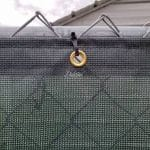 Vinyl mesh screen