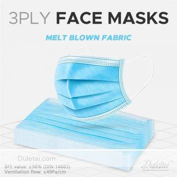 3ply face masks
