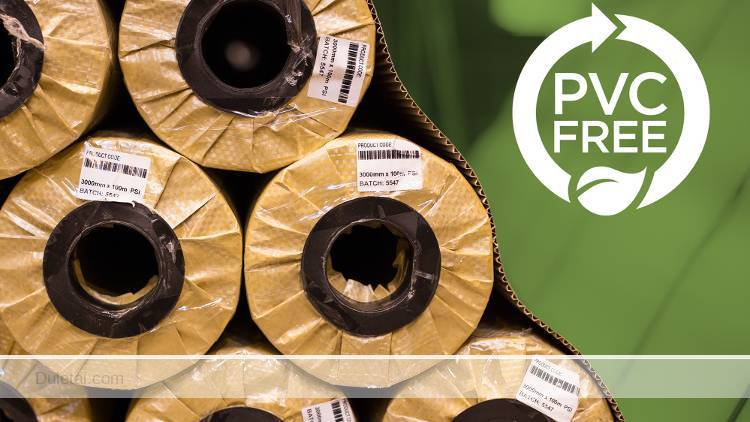 PVC free materials