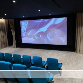 acoustic transparency projection screen
