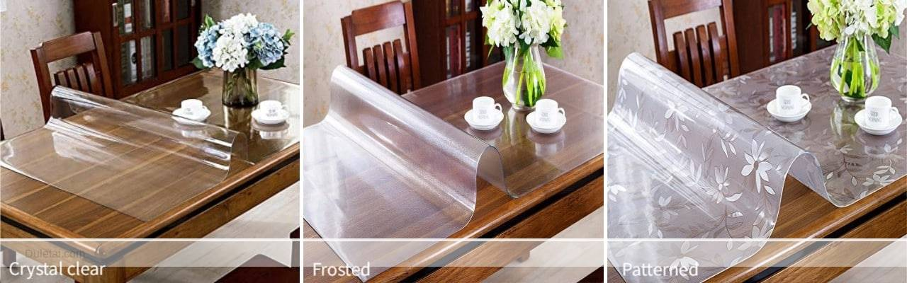 PVC table cloth material