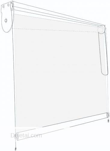 clear pvc screen